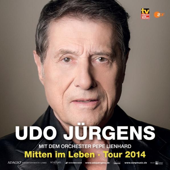 Udo Jürgens Udo Jürgens Tour 2014 Mitten Im Leben Auf Großer