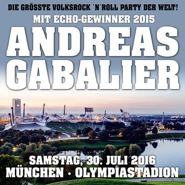 Andreas Gabalier Am 30072016 Steigt In München Die Größte