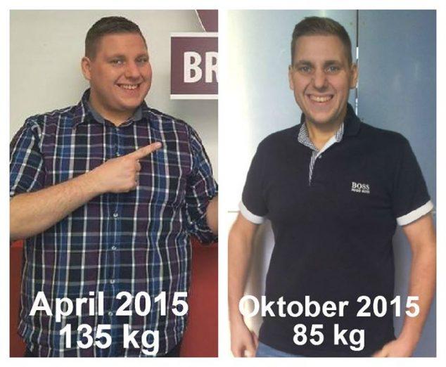 MARKUS BILKE Respekt, Markus: über 50 kg sind gepurzelt