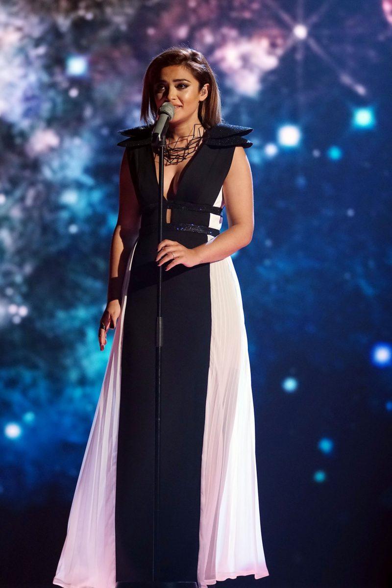 Maria Voskania Beim Dsds Finale Am Samstag 06052017 Singt Sie