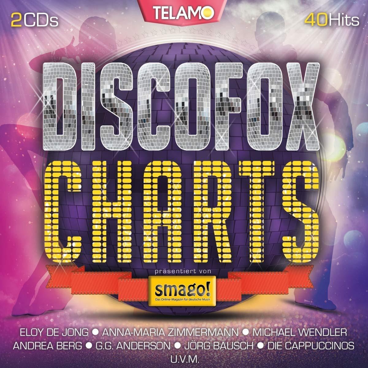 DISCOFOX CHARTS - präsentiert von smago! (Doppel-CD)