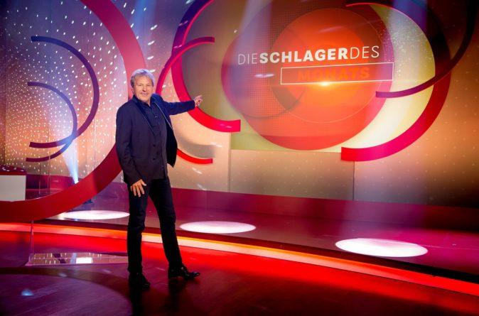 """BERNHARD BRINK präsentiert …: <br>""""Die Schlager des Monats"""" – Februar // heute (05.03.2021), MDR FERNSEHEN!"""