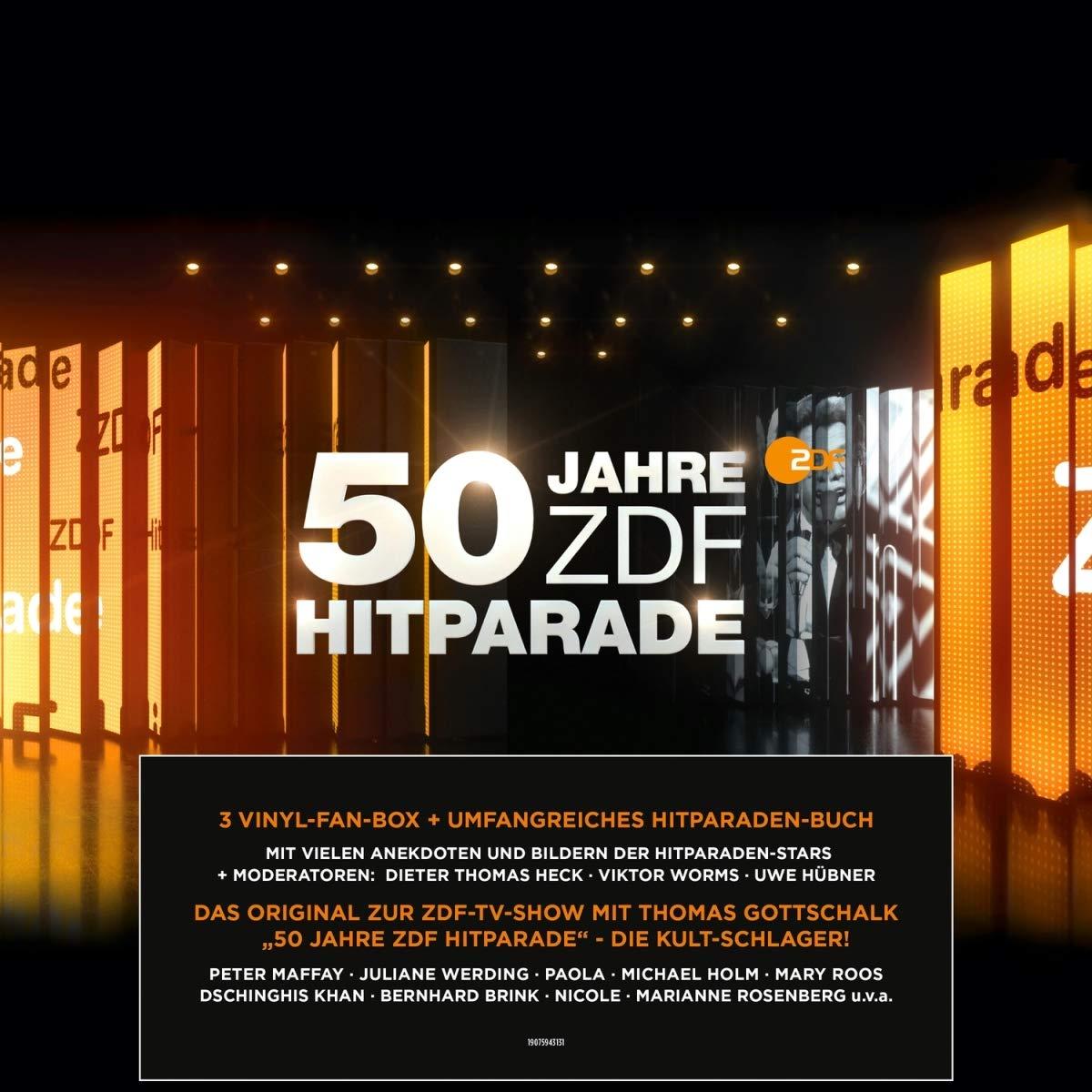 50 Jahre ZDF-Hitparade - Vinyl-Fan-Box mit ausführlichem Hitparaden-Buch