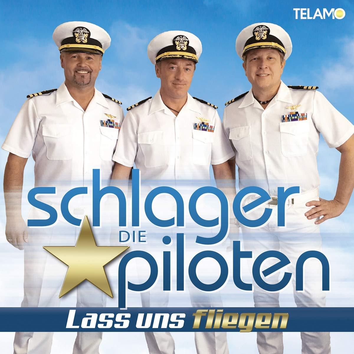 DIE SCHLAGERPILOTEN * Lass uns fliegen (CD) - smago! wünscht einen guten Flug in die Top 3 der Offiziellen Deutschen Album Charts oder ... vielleicht sogar ... auf die #1 ...