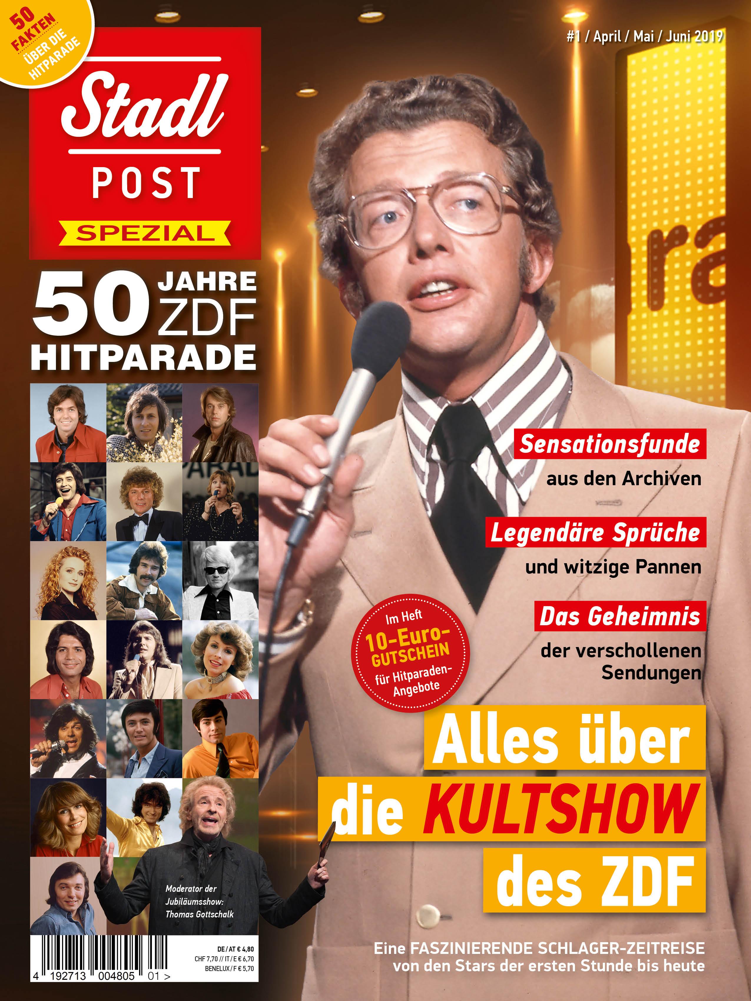 50 Jahre ZDF-Hitparade * STADLPOST Spezial in Kooperation mit Sony Music - ab 25.04.2019 im Handel