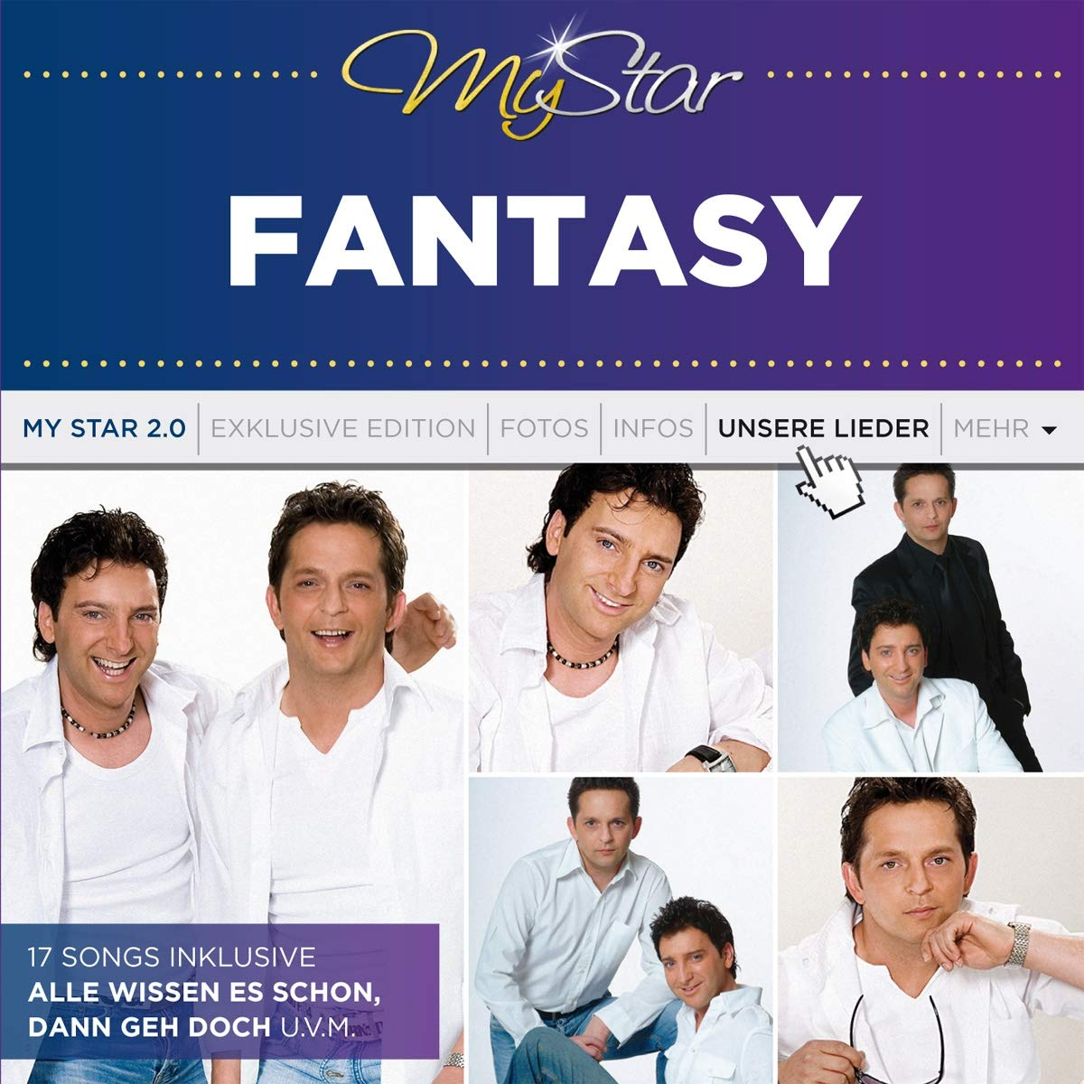 FANTASY * My Star 2.0 (CD)