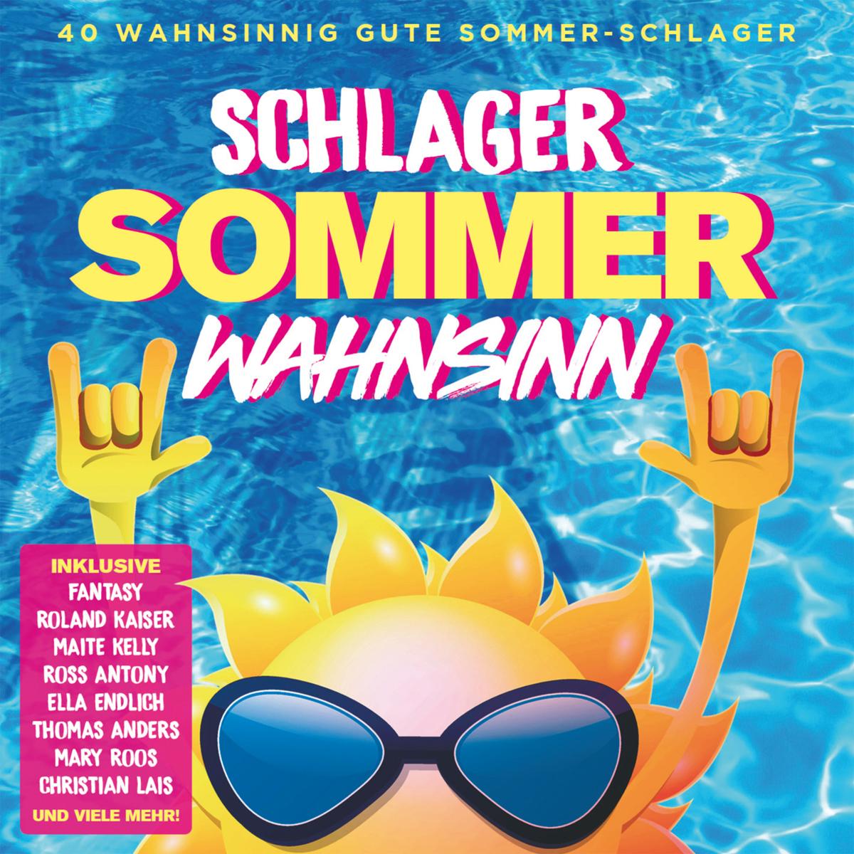DIVERSE * Schlager Sommer Wahnsinn (Doppel-CD)