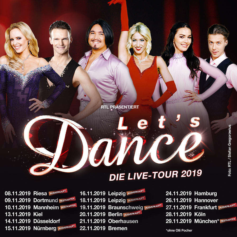 LetS Dance Live Tour 2019