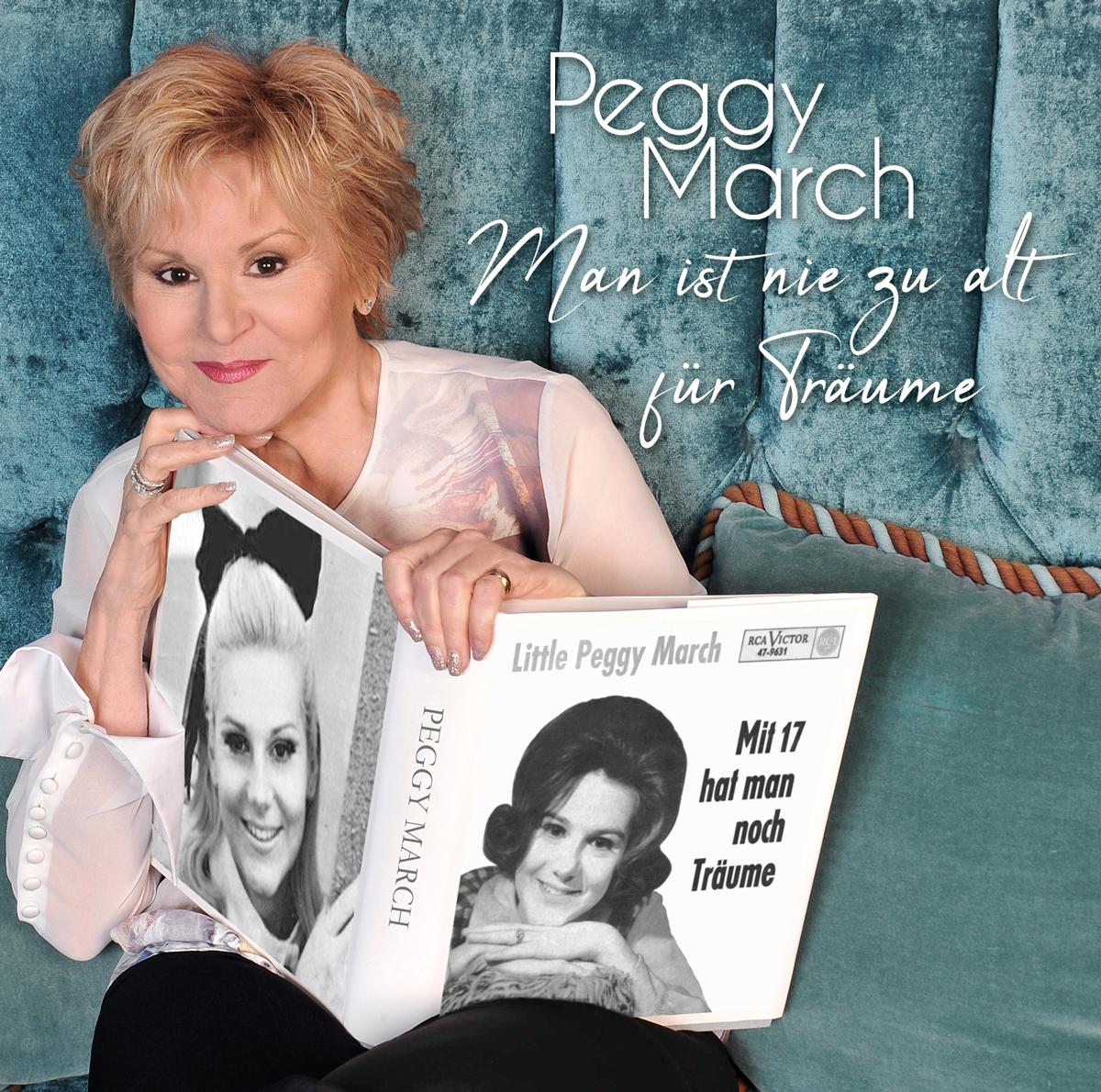 PEGGY MARCH * Man ist nie zu alt für Träume (CD)