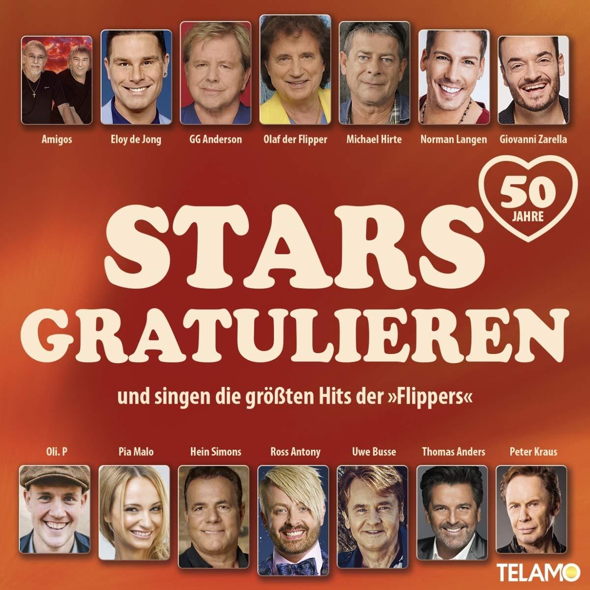 DIVERSE * Stars gratulieren und singen die größten Hits der Flippers (CD)