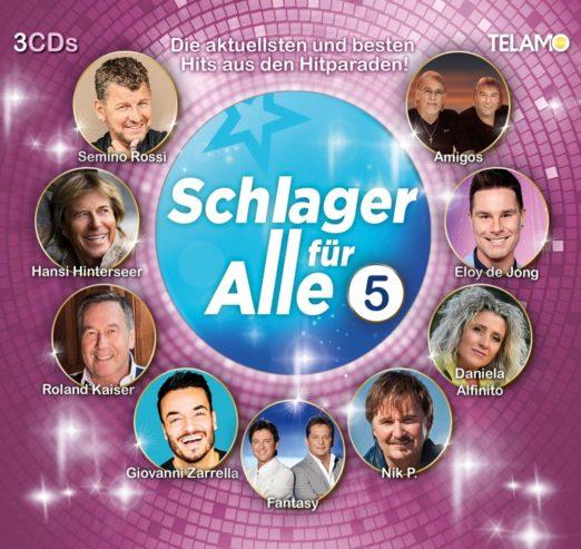 DIVERSE * Schlager für alle - Folge 5 (3-CD Box-Set)