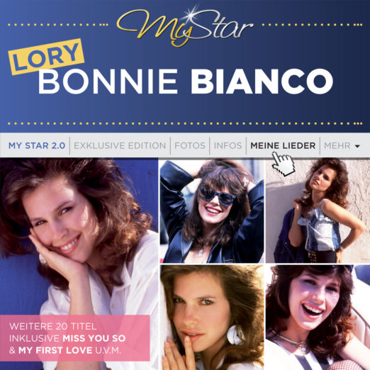 LORY BONNIE BIANCO * My Star 2.0 (CD)