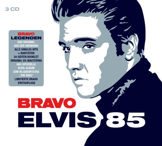ELVIS PRESLEY * Elvis 85 (BRAVO Editon)  (3-CD)
