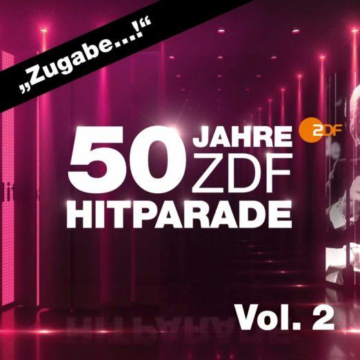 """""""ZDF-HITPARADE"""" <br>Top 10 Erfolg für 3-CD Box-Set """"50 Jahre ZDF-Hitparade Vol. 2""""!"""