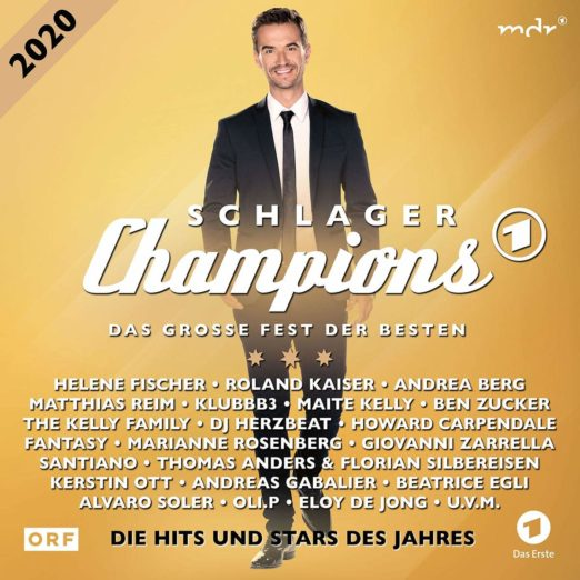 DIVERSE * Schlagerchampions 2020 - Das große Fest der Besten (Doppel-CD)
