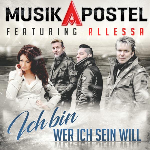 """MUSIKAPOSTEL feat. ALLESSA <br>Mit """"Ich bin wer ich sein will"""" auf Radiohit-Kurs!"""