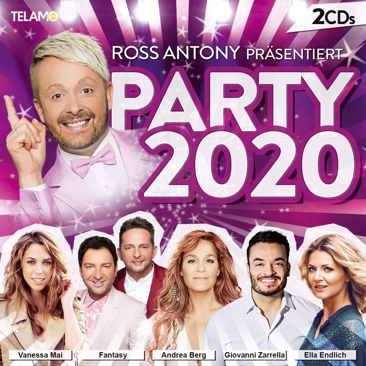 Ross Antony präsentiert PARTY 2020 (Doppel-CD)