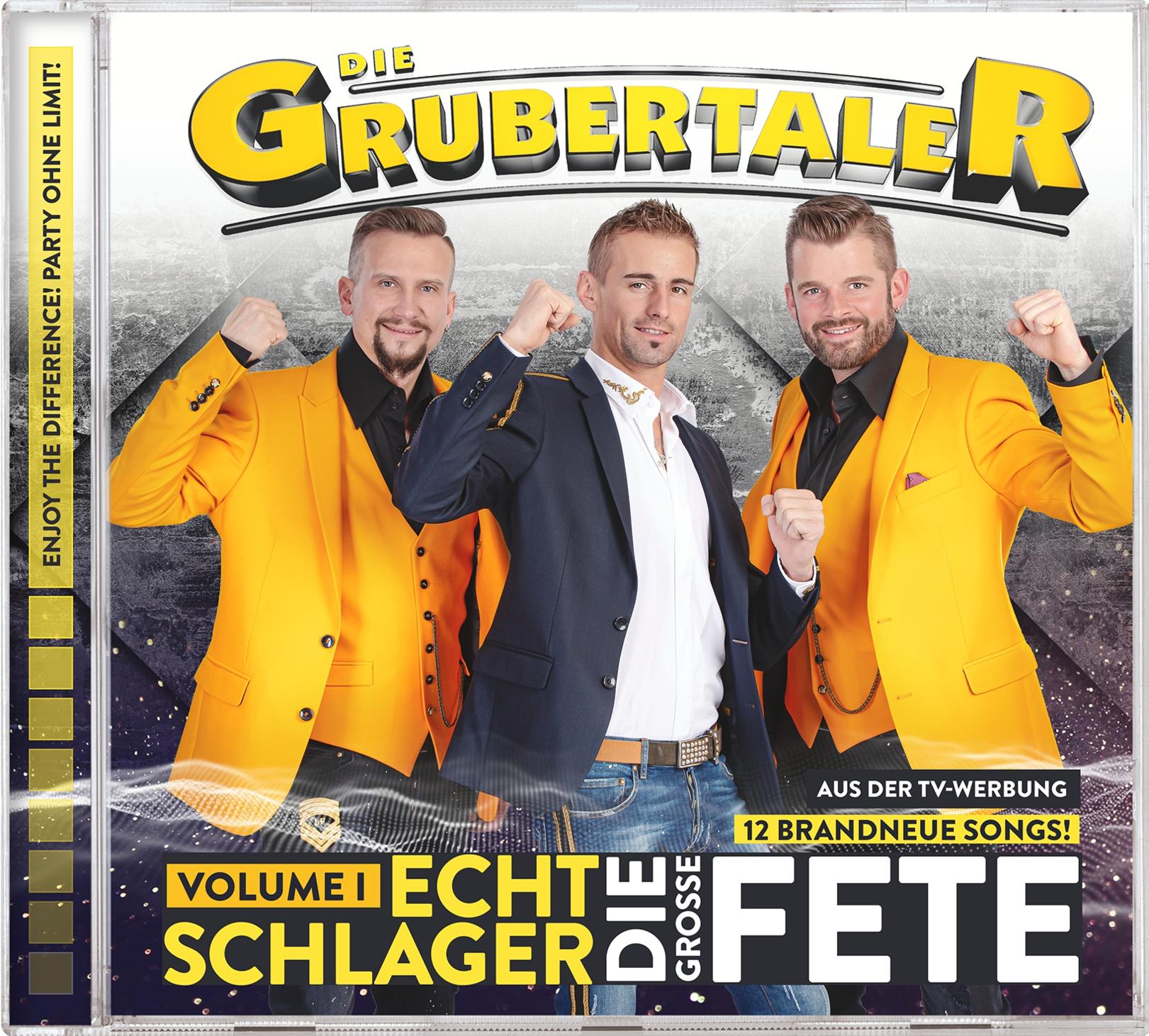 DIE GRUBERTALER * Echt Schlager - Die große Fete (Volume 1)  (CD)