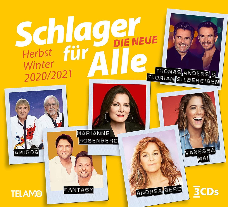 DIVERSE * Schlager für Alle - – Die Neue Herbst / Winter 2020 / 2021 (3-CD Box-Set)