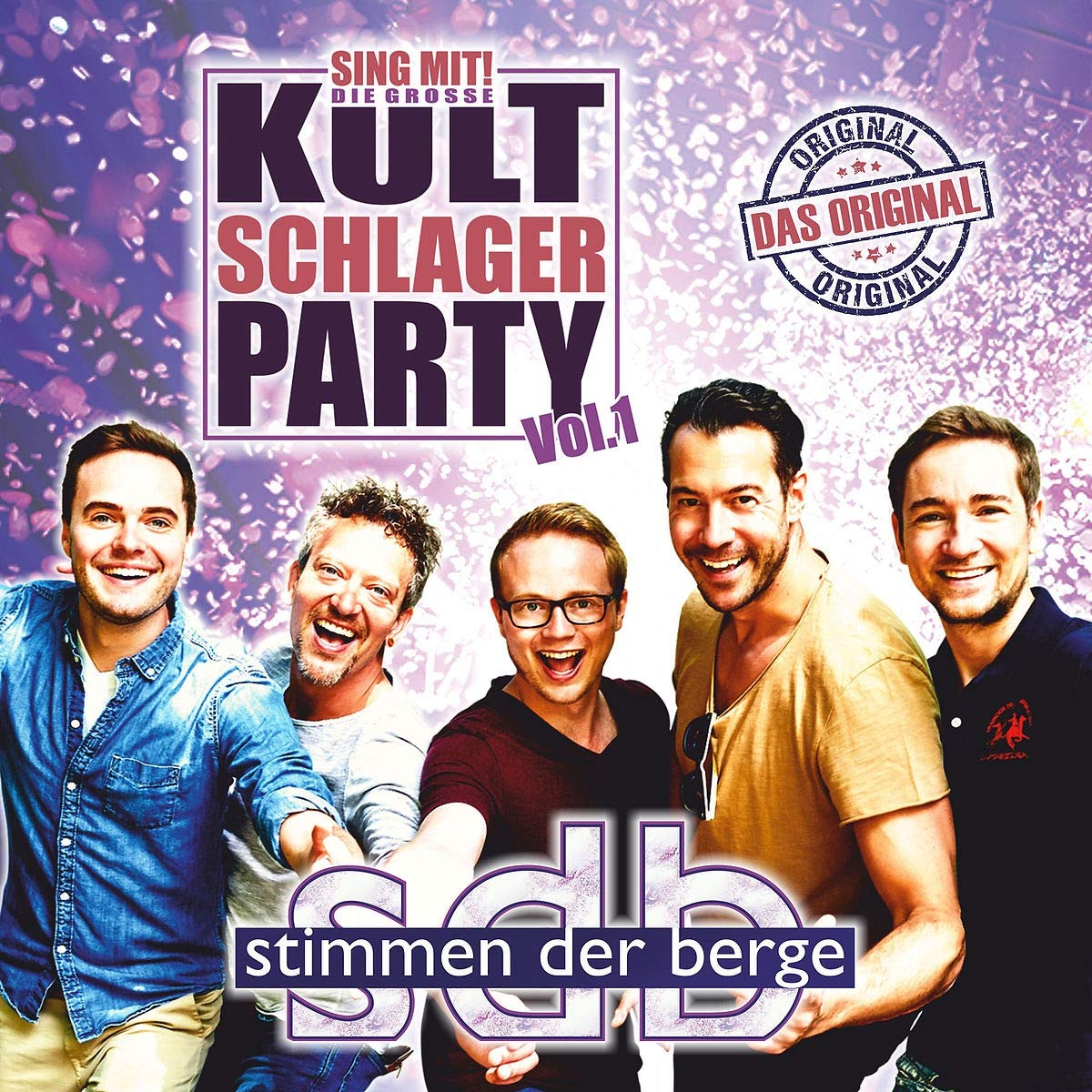 STIMMEN DER BERGE * Sing mit! Die große Kultschlager Party – Vol. 1 (CD)