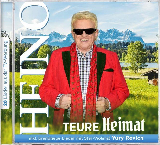 """HEINO <br>Wissenswertes über seine neue CD """"Teure Heimat"""" (feat. Yury Revich)!"""