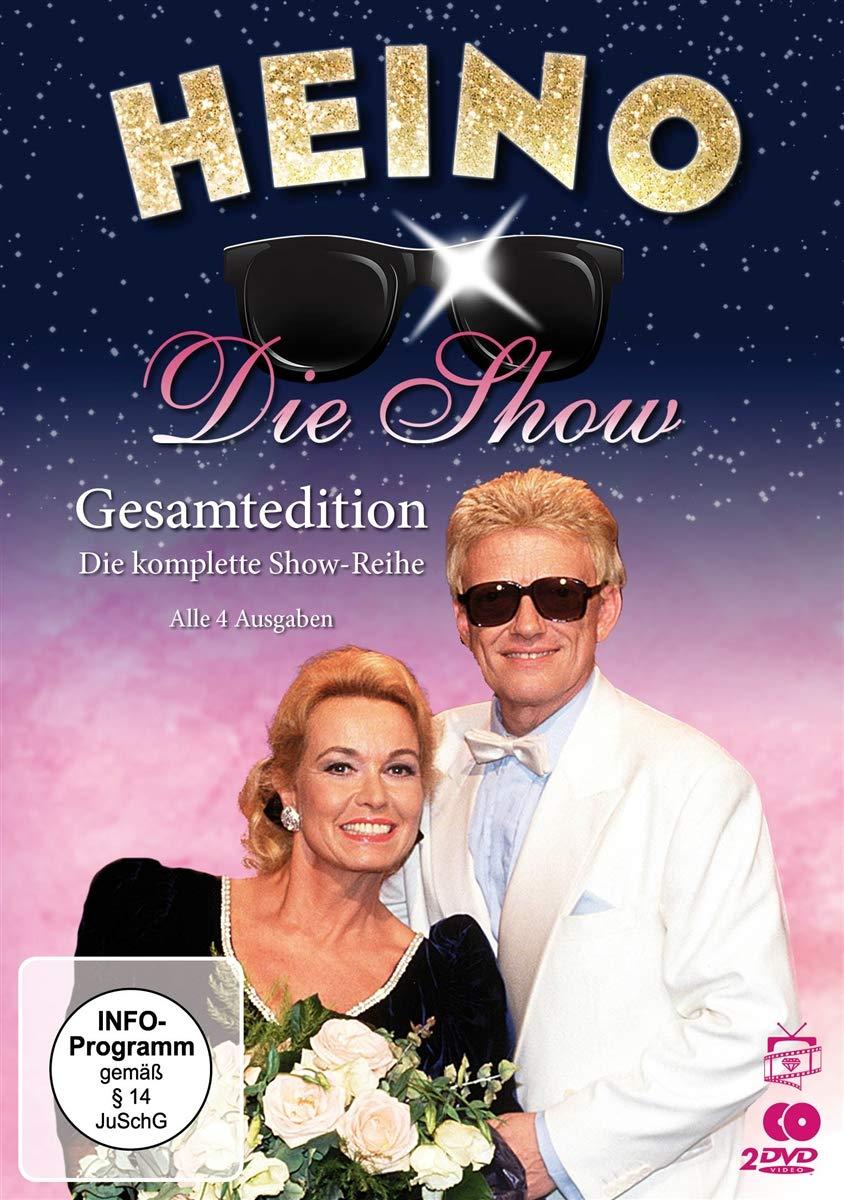 HEINO * Heino - Die Show: Gesamtedition. Die komplette Show-Reihe - Alle 4 Ausgaben [2 DVDs]