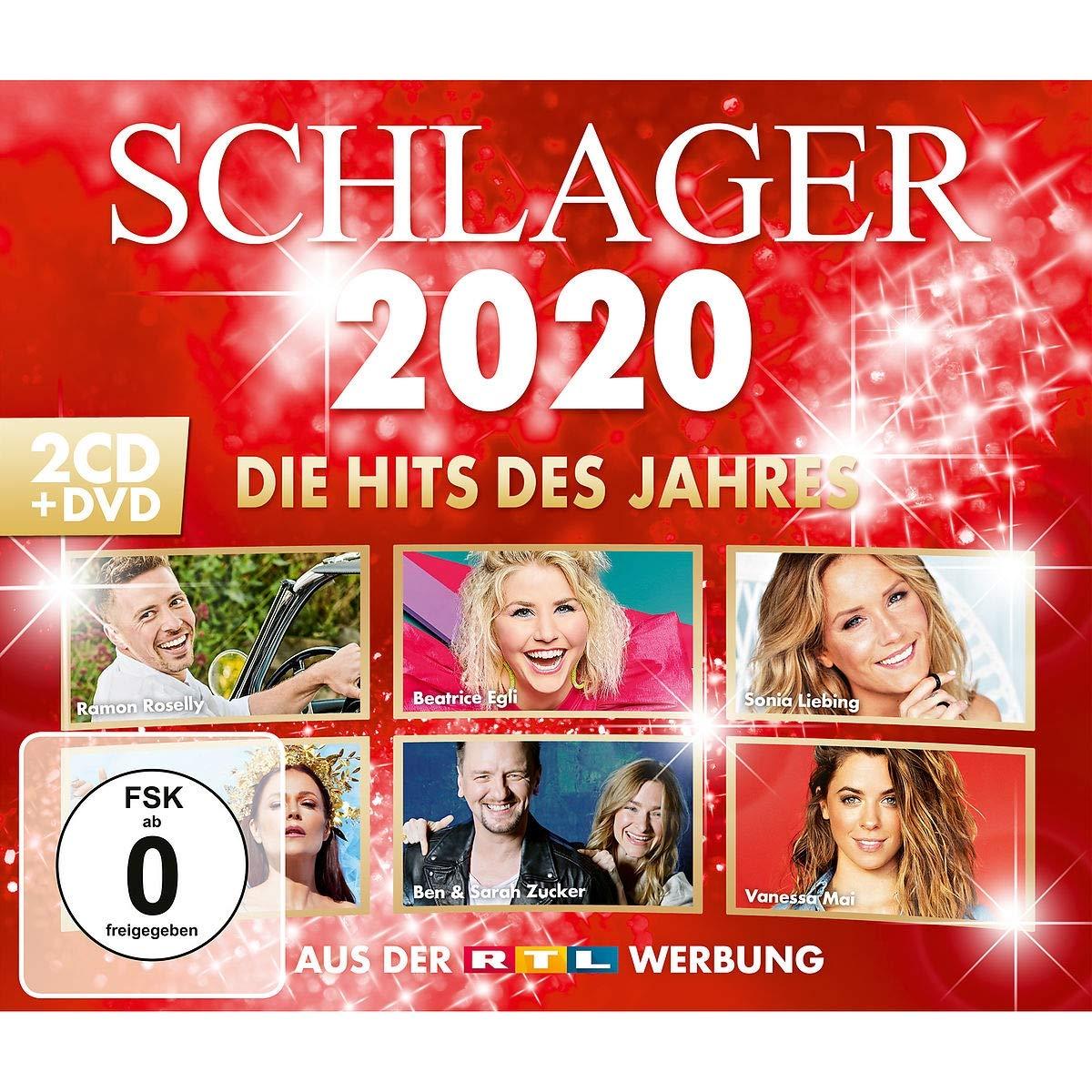 DIVERSE * Schlager 2020 - die Hits des Jahres (2-CDs+1DVD)