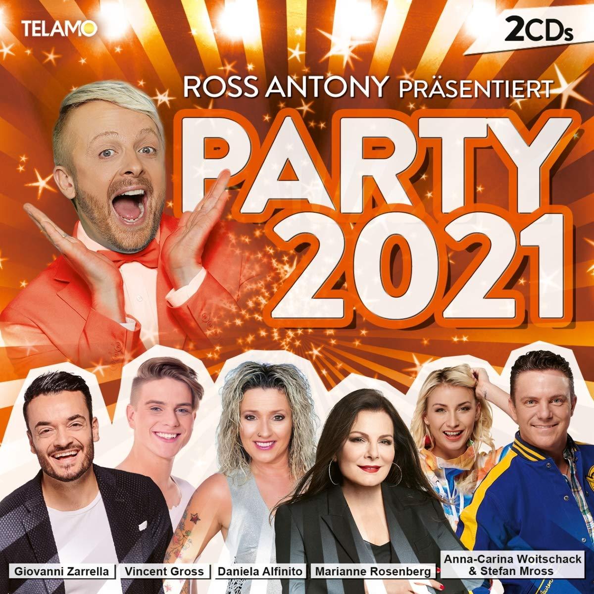 DIVERSE * Ross Antony präsentiert Party 2021 (Doppel-CD)
