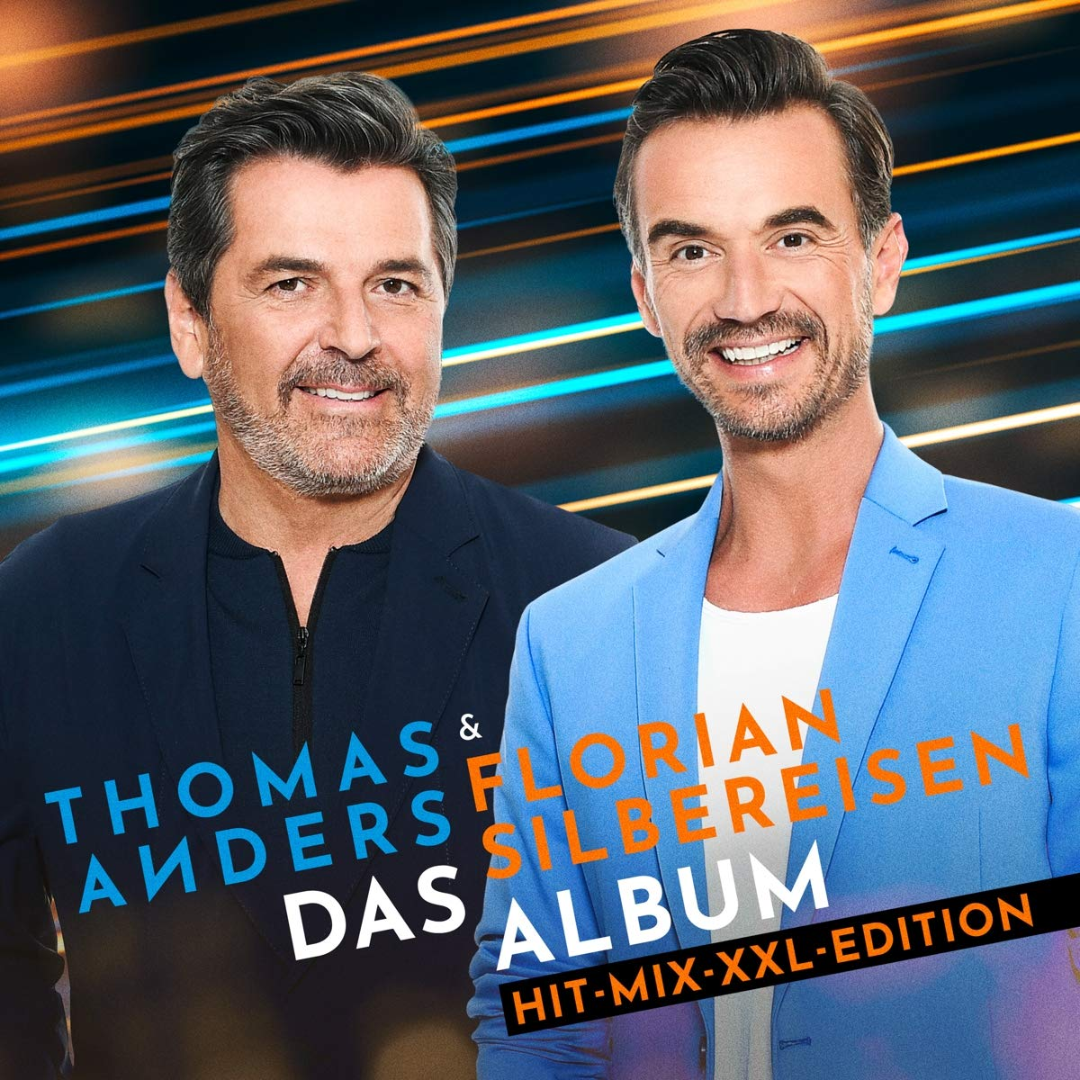 THOMAS ANDERS & FLORIAN SILBEREISEN * Das Album (Hit-Mix-XXL-Version)  (Doppel-CD)