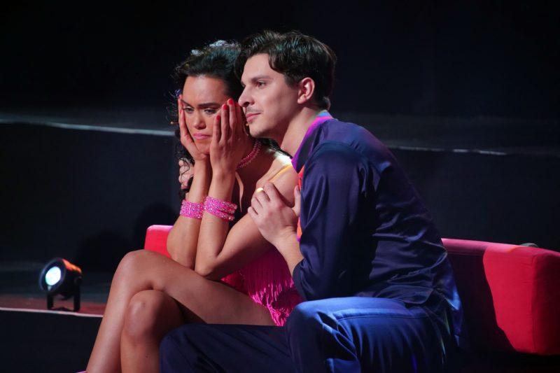 """""""LET'S DANCE"""" <br>Aus für Vanessa Neigert in der ersten regulären Live-Show!"""