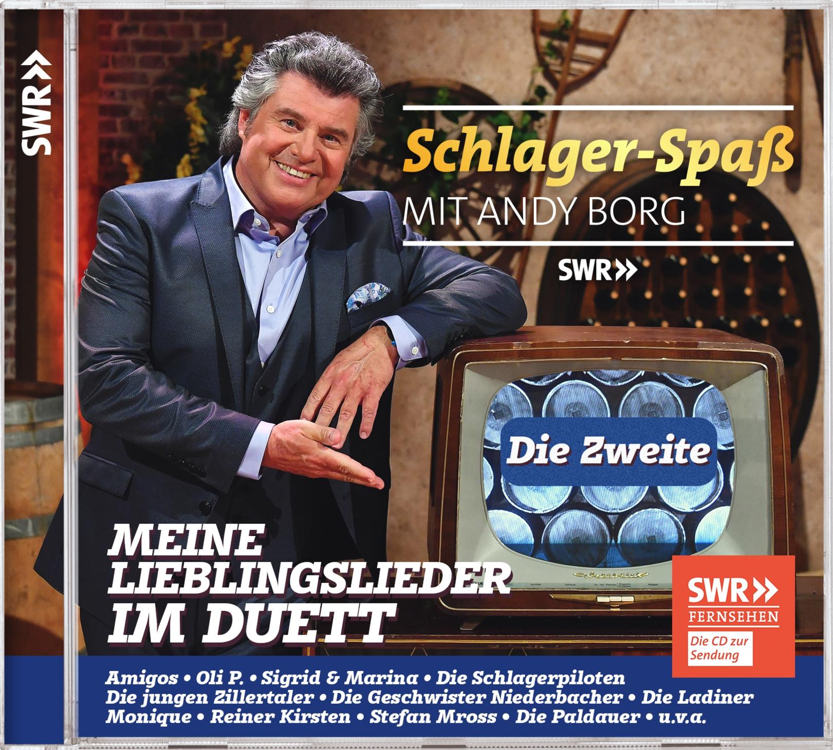 ANDY BORG präsentiert ...: Schlager-Spaß mit Andy Borg – Die Zweite – Meine Lieblingslieder im Duett (Doppel-CD)