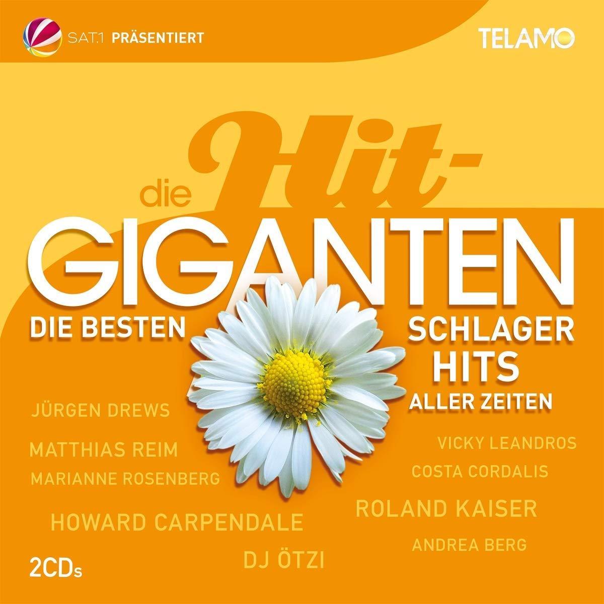 DIVERSE Die Hit Giganten: Die besten Schlager Hits aller Zeiten (Doppel-CD)
