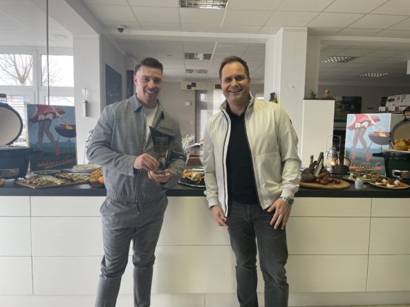 "RAMON ROSELLY <br>smago! Award für Ramon Roselly, den ""Senkrechtstarter des Jahres""!"