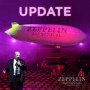 """RALPH SIEGEL <br>Erneute Verschiebung der Welturaufführung von Ralph Siegels """"ZEPPELIN – Das Musical.""""!"""