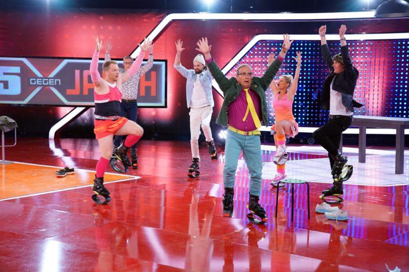 """MICKIE KRAUSE u.a. <br>Heute (08.05.2021) in der RTL-Sendung """"5 gegen Jauch"""" (Staffel 15 – 1/3) zu Gast!"""