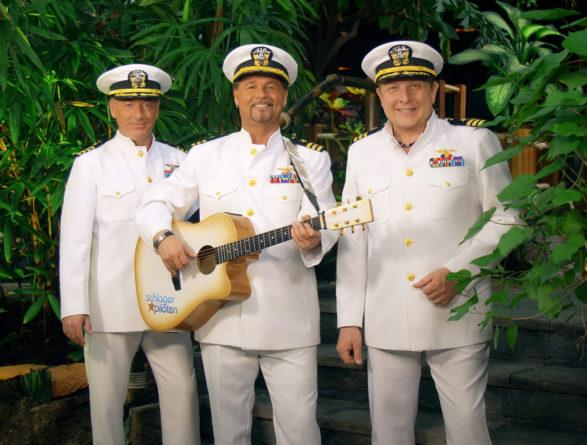 """DIE SCHLAGERPILOTEN <br>Heute (13.05.2021), Deutsches Musik Fernsehen: """"Die Schlagerpiloten: Blue Hawaii""""!"""