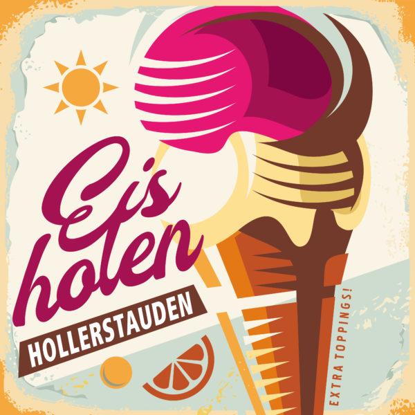 """DIE HOLLERSTAUDEN <br>Mit dem Titel """"Eis holen"""" melden sich Die Hollerstauden zurück!"""