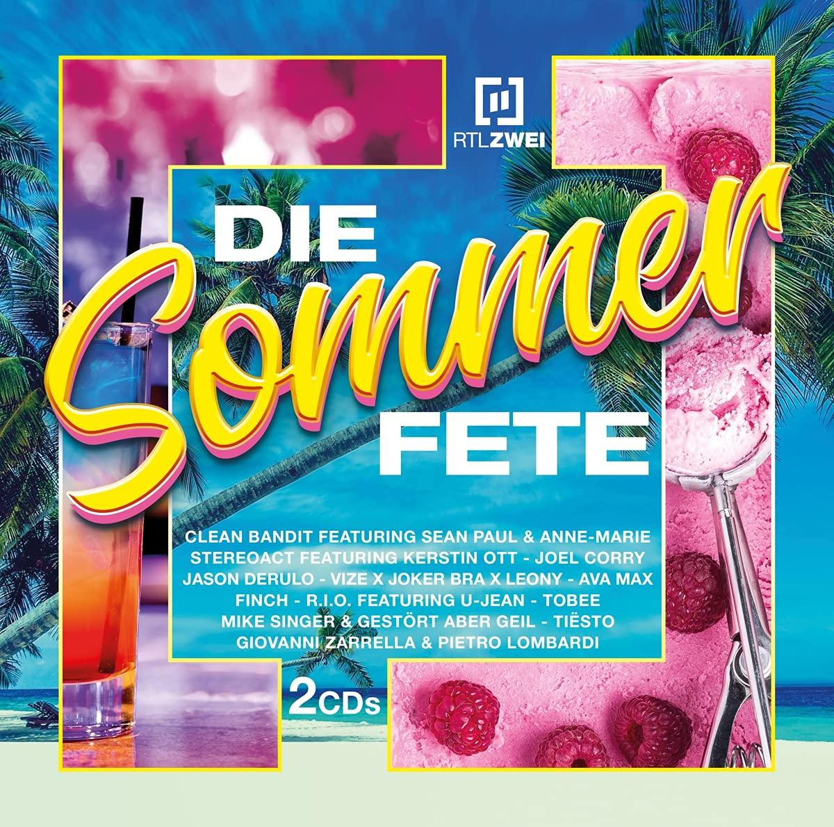 DIVERSE * RTLZWEI – Die Sommer Fete (Doppel-CD)