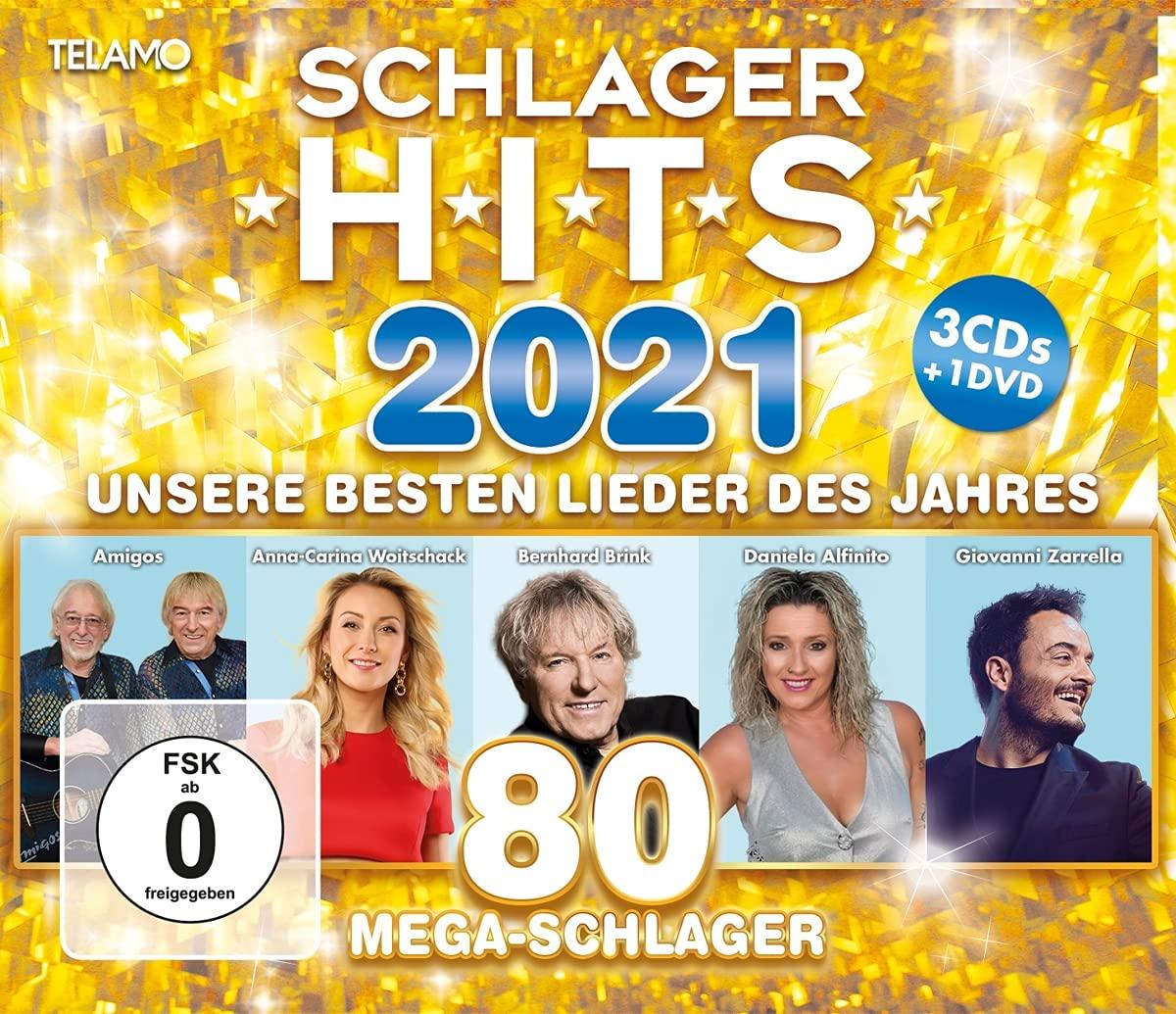 DIVERSE * Schlager Hits 2021 (3CDs + 1DVD)