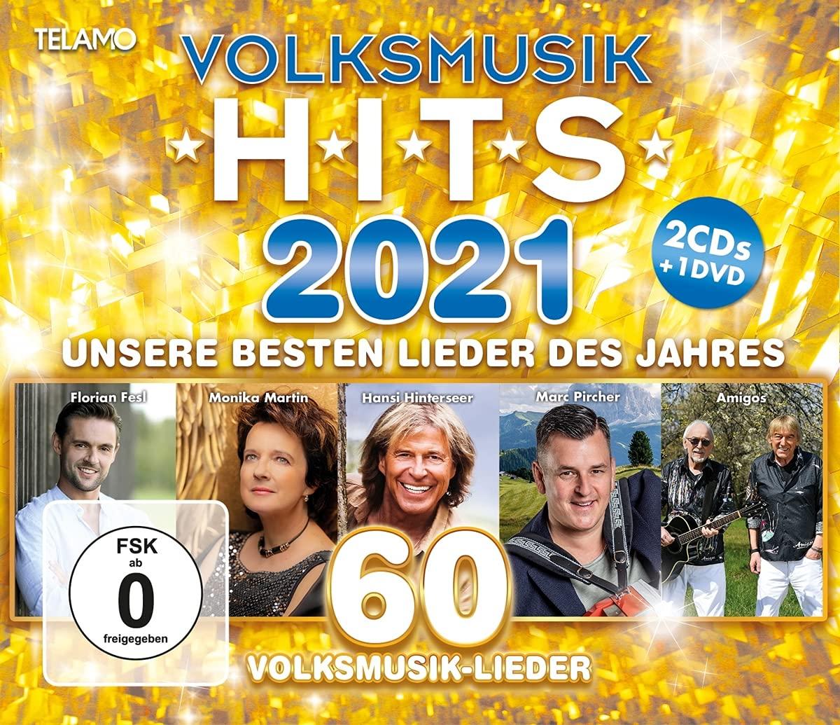 DIVERSE * Volksmusik Hits 2021 (2 CDs + 1 DVD)