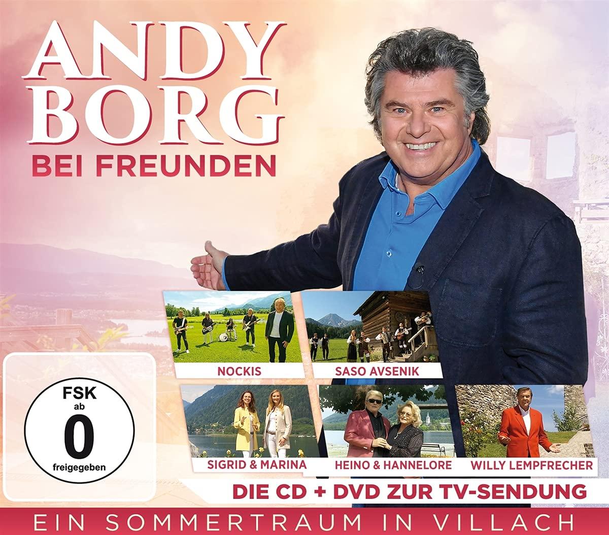 ANDY BORG * Andy Borg bei Freunden – Ein Sommertraum in der Region Villach (CD+DVD)